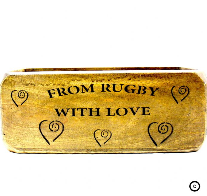 Collectable|Unique Gift|Handmade|Rugby Box